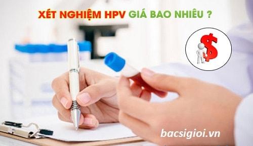 Xét nghiệm HPV giá bao nhiêu